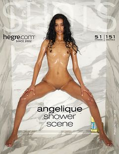 Angelique shower scene