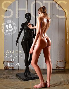 Anita statue of love