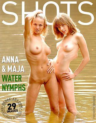 Anna y Maja ninfas del agua