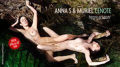 Anna S y Muriel cenote