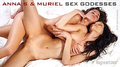 Anna S and Muriel sex goddesses