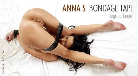 Anna S bondage tape