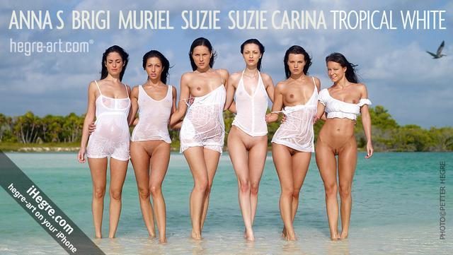 Anna S Brigi Melissa Muriel Suzie Suzie Carina blanco tropical