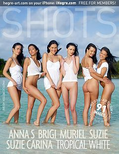 Anna S Brigi Melissa Muriel Suzie Suzie Carina tropical white