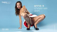Anna S christmas skirt