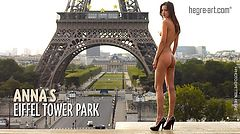 Anna S Eiffel tower park