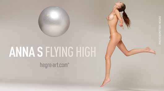 Anna S flying high