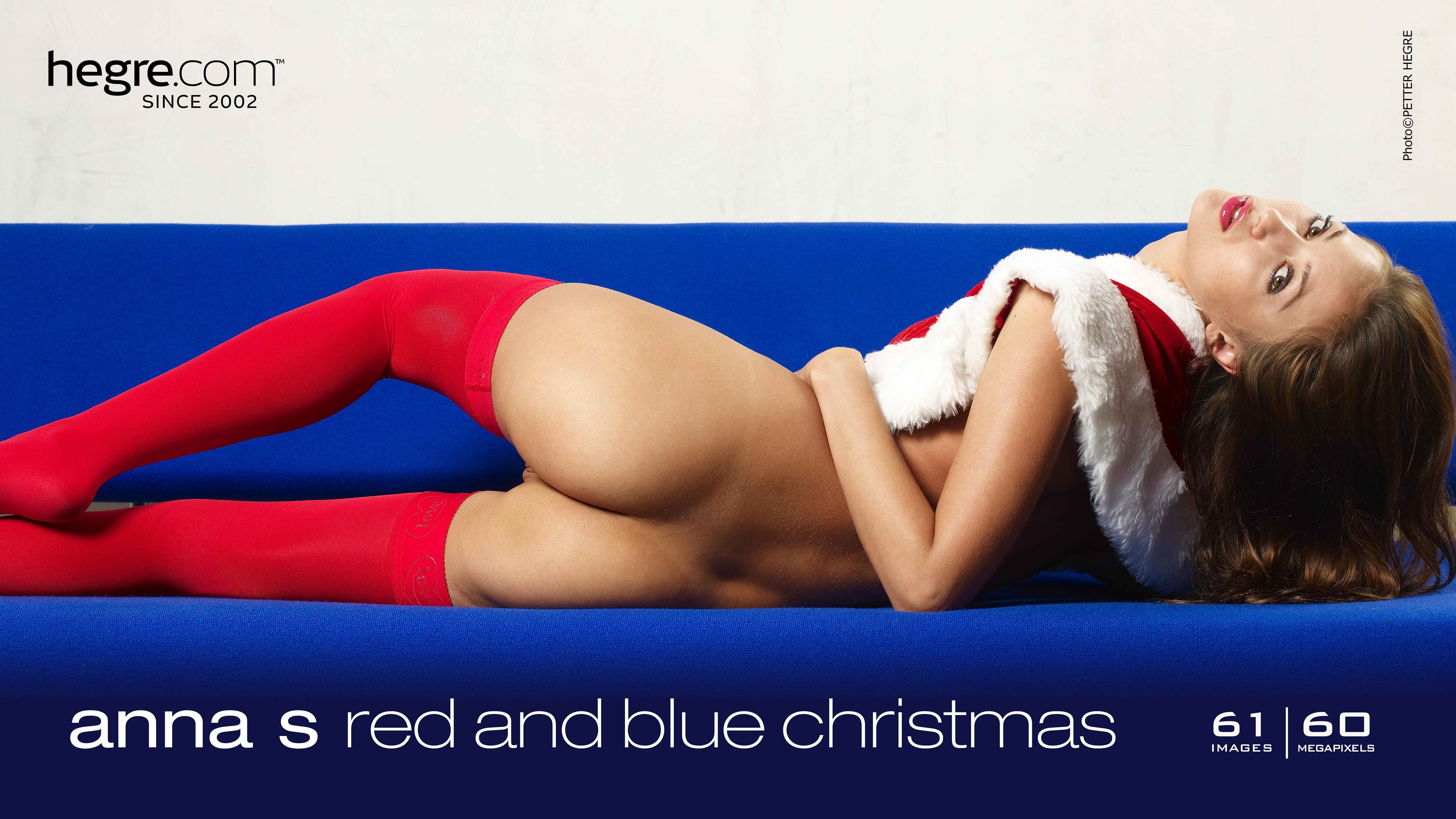 Anna S red and blue christmas