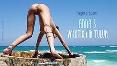 Anna S vacaciones en Tulum
