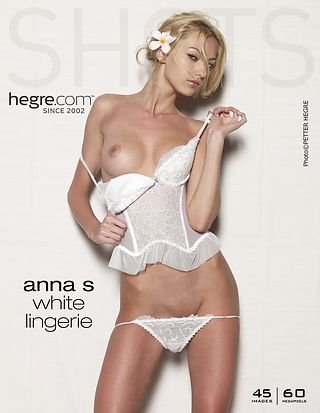 Anna S. lingerie blanche