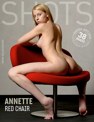 Annette red chair