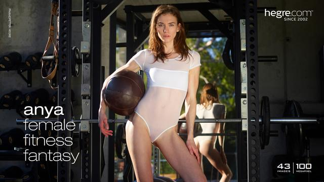 Anya female fitness fantasy