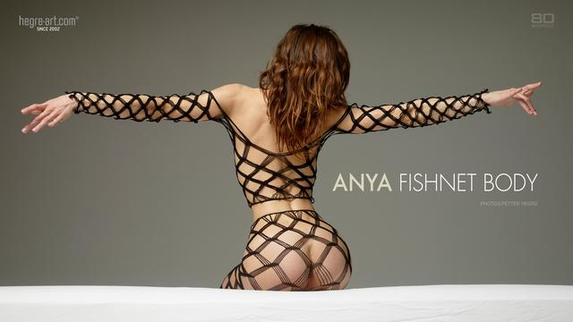 Anya fishnet body