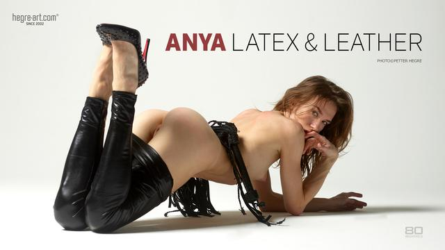 Anya latex and leather