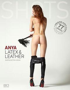 Anya latex and leather