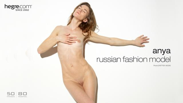 Anya mannequin mode russe