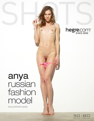 Anya Russian fashion model