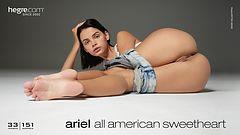 Ariel Amerikanisches Sweetheart