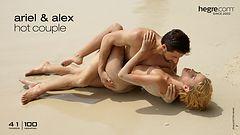 Ariel et Alex couple chaud