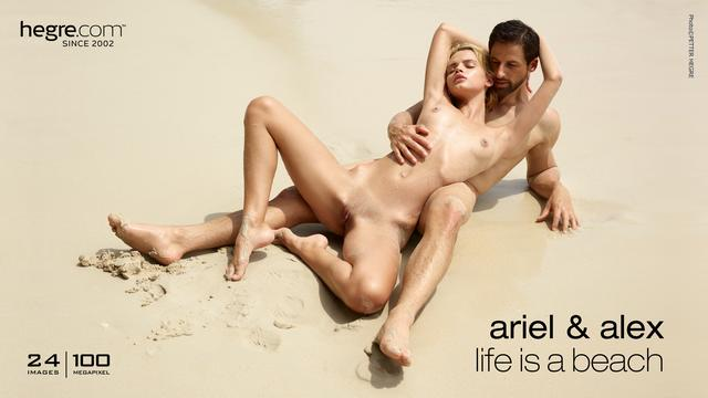 Ariel and Alex life is a beach