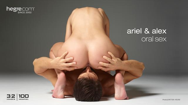 Ariel and Alex oral sex