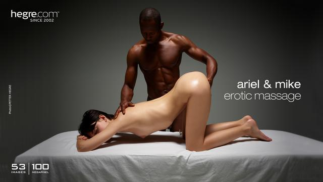 Ariel and Mike erotic massage