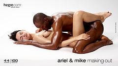 Ariel and Mike making out