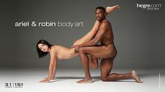 Ariel und Robin Körperkunst