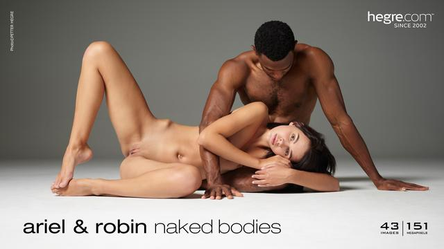 Ariel and Robin naked bodies