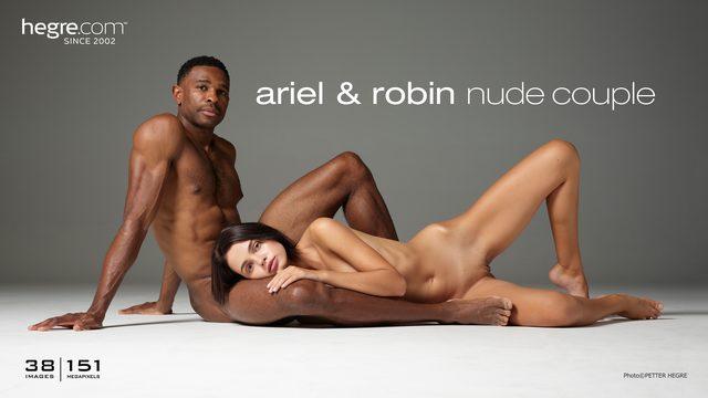 Ariel et Robin couple nu