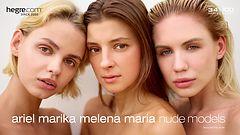 Ariel Marika Melena Maria nude models