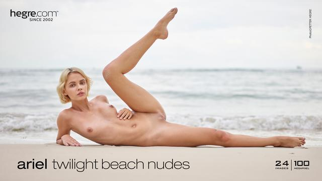 Ariel twilight beach nudes