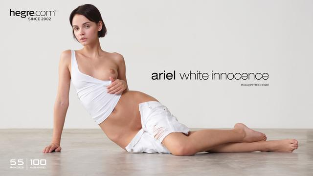 Ariel white innocence