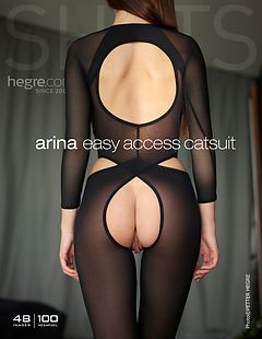 Arina catsuit facile à enfiler