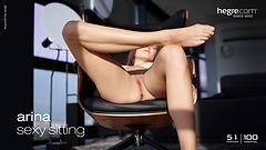 Arina sexy sitting