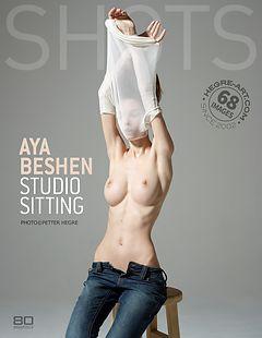 Aya Beshen studio sitting