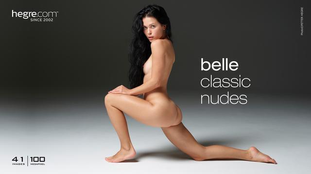 Belle classic nudes