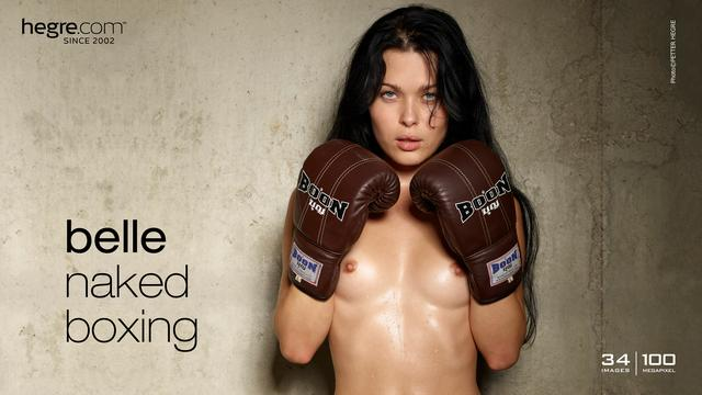 Belle naked boxing