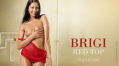 Brigi top rojo