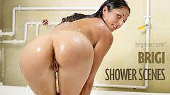 Brigi shower scenes