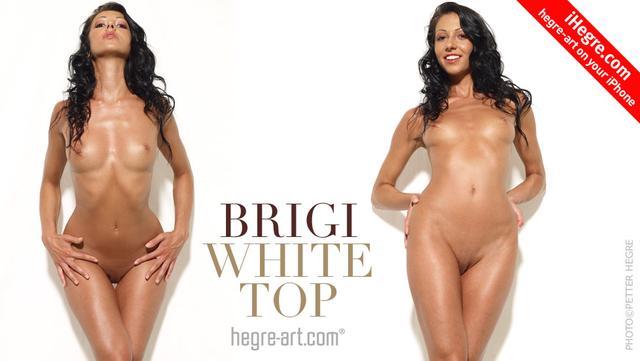 Brigi top blanco