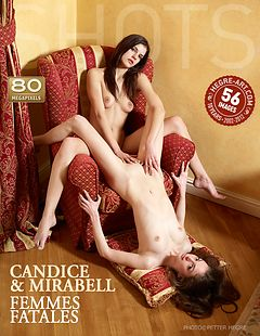 Candice and Mirabell femmes fatales