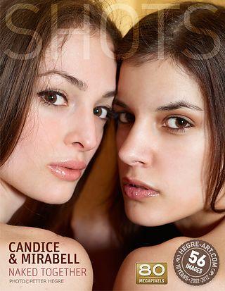 Candice und Mirabell zusammen nackt