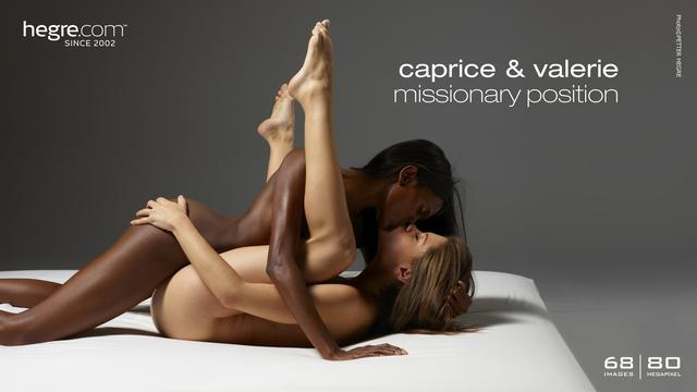 Caprice and Valerie missionary position