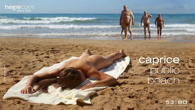 Caprice plage publique