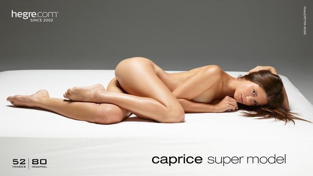 Caprice supermodelo