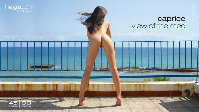 Caprice view of the med