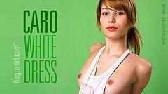 Caro vestido blanco