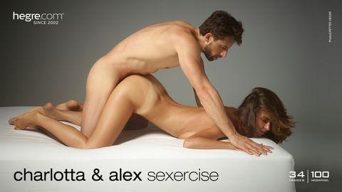 Charlotta and Alex sexercise