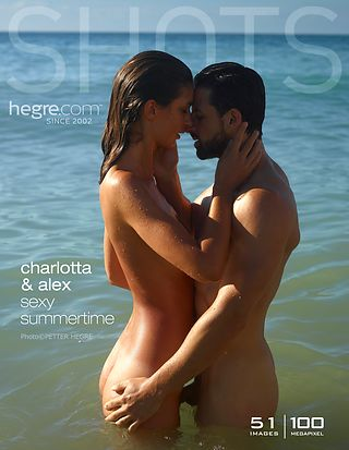 Charlotta and Alex sexy summertime
